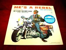 CRYSTALS - He's a Rebel - SEALED VINYL LP - 2012 Sundazed reissue
