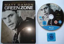 LIMITED STEELBOOK EDITION __  GREENZONE  __  Matt Damon  __  [ Blu-ray ] FSK 16