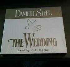 The Wedding Danielle Steel Read by J.R. Horne NEW SEALED!!