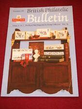 UK PHILATELIC BULLETIN - Nov 1993 Vol 31 # 3
