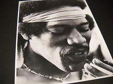 Jimi Hendrix Headband & Cigarette vintage B/W Photo Style Promo Display Image