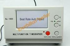Brand  New Watch Timing Tester Machine Multifuction Timegrapher No 1900