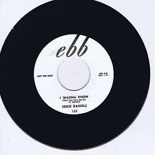 EDDIE DANIELS - I WANNA KNOW / MARDI GRAS (Great Black Rockers) ROCKABILLY