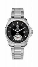Tag HEUER GRAND CARRERA CALIBRO 6 GENTS WATCH wav511a.ba0900 - Rrp £ 3300-NUOVO