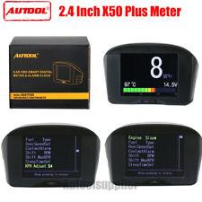 Autool X50 Plus Auto OBD Smart Digital & Alarme Code défaut outil multifonction compteur