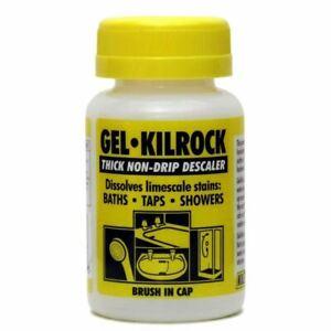 Descaler Gel - Kilrock Non-Drip Limescale Remover- Bath Taps Shower 160ml