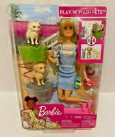 New Barbie Play and Wash Pets Playset
