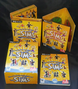 THE SIMS THE COMPLETE COLLECTION PC CD ROM GAME BIG BOXSET