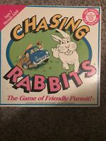 2428) RARE, CHASING RABBITS The Game Of Friendly Pursuit! 1991 Musser Film Prod
