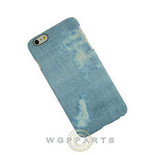 Apple iPhone 6/6s Plus Candy Skin Faded Blue Jeans Case Cover Shell Guard