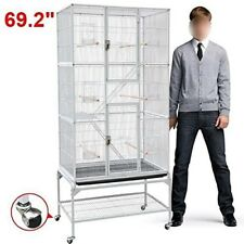 Professional Parrot Cage Large Bird Pet perch House cage Cockatiel finch macaw