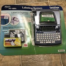 Brother P Touch Pt 1880c Labeling System 558526 Nib New