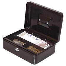 Geld Wert Münz Dokumenten Kassette Tresor Spardose Geldkassette 25x19x9cm, 90025