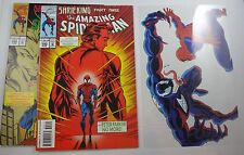 SPIDER-MAN #390,392 woth venom annimation cell #50 cover swype  NM 9.4