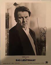 Harvey Keitel Signed 10x8 Photo - Bad Lieutenant