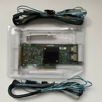 NEW HP H220 9205-8I IT PCI-e 3.0 x8 Host Bus Adapter card & 2PCS SFF-8087 SATA