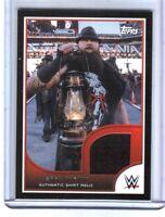 WWE Bray Wyatt 2016 Topps RTWM Event Used Shirt Relic Card SN 203 of 350