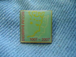Pin Bistum Bamberg Erzbistum Diözese im Norden Bayerns 1007-2007 Katholiken