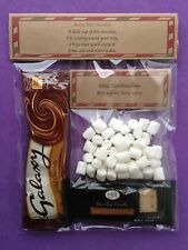 Santa Hot Chocolate Biscuits & Marshmallows Stocking Filler Christmas Eve Box