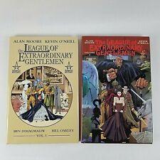 The League Of Extraordinary Gentlemen Vol 1-2 Hardcover Graphic Novels Moore