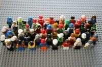 Lego 10 Figuren / Konvolut / gemischt / mit Kopfbedeckung