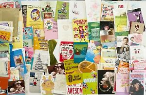 Lot over 100 - Hallmark Greeting Cards Mixed (MSRP $3.99 - $6.99 / each) Lot 3