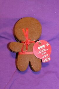 "Felt Shapes Christmas Brown Gingerbread Men 12 pcs 6"" Kid's Crafts Creatology 3+"