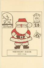 """MERRY CHRISTMAS,SANTA THE """"MIDNIGHT RIDER"""",ONCE A YEAR"""