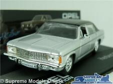OPEL ADMIRAL B MODEL CAR 1:43 SCALE SILVER IXO COLLECTION HERBERT KILLMER K8