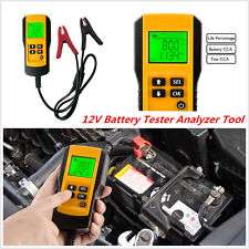 AE300 12V Digital LCD Autos Car Battery Load Tester Analyzer Diagnostic Tool CCA