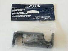 Levolor Adjustable Cafe Rod Brackets - For Rods up to