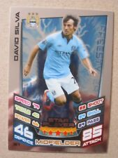 Match Attax 2012/13 - Star Player card - David Silva of Manchester City