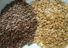 A Semer Graines de LIN Brun et Doré BIO 1500 Graines Flax seed bio golden/brown
