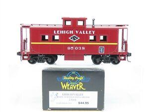 O Scale 2-Rail Weaver Ultra Line U2804 LV Lehigh Valley Caboose #95038