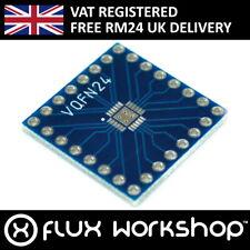 5pcs VQFN24 Chipset Breakout Adapter Platte 2.54mm Ic Prototyp Flux Workshop