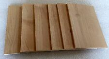 "6 Pack 5""x8""x1/4"" Alder Smoke Planks"