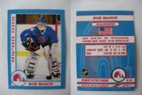 2015 SCA Bob Mason Quebec Nordiques goalie never issued produced #d/10