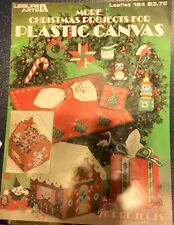 Vintage Leisure Arts More Christmas Projects for Plastic Canvas Leaflet 194 1981
