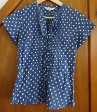 East Blue & White Polka Dot Shirt 8