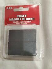 Pack Of Two 01 78 X 78 X 38 Ceramic Block Ceramicferrite Magnet
