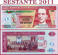 (com) GUATEMALA - 10 QUETZALES 14.5. 2014 - P 125 NEW not listed in catalog  UNC