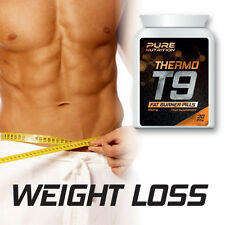 PURE NUTRITION T9 THERMO FAT BURNER PILLS– 0% BODYFAT NOT STEROIDS RIPPED