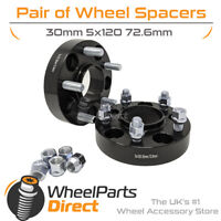 Bolt-On Wheel Spacers (2) 5x120 72.6 30mm for Range Rover Sport [LW] 13-20
