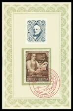 ARGENTINA AUSSTELLUNG 1950 SELTENE KARTE EXHIBITION CARD RARE!! m1181