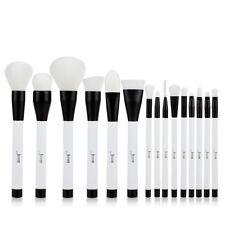 Jessup 15Pcs Pro Makeup Brushes Cosmetic Foundation Make Up Brush Set White US