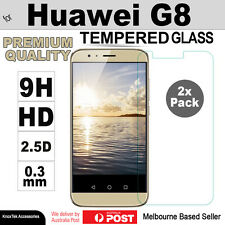 2x GENUINE Premium Tempered Glass Screen Protector Film for Huawei Ascend G8