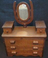 Vintage Wooden Doll Dresser, Handmade
