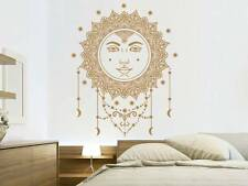 Sun Wall Decal Mandala Ethical Stars Symbol Vinyl Decals Bohemian Decor NV201