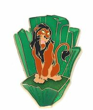 New RARE LE 125 Disney Pin✿Boys Club Evil Villain Lion King Uncle of Simba Scar