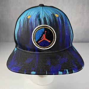 Air Jordan Retro 8 Aqua Hat Jumpman Snapback Purple Black Neon Aqua 8